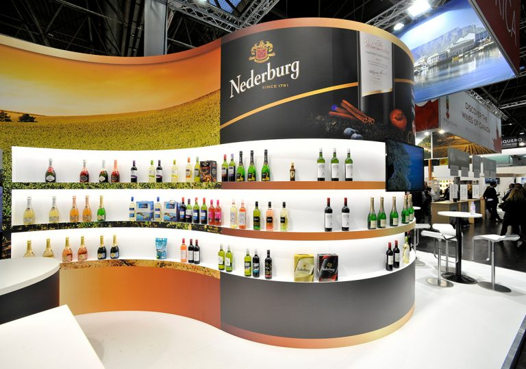 Messestand Wines of South Africa