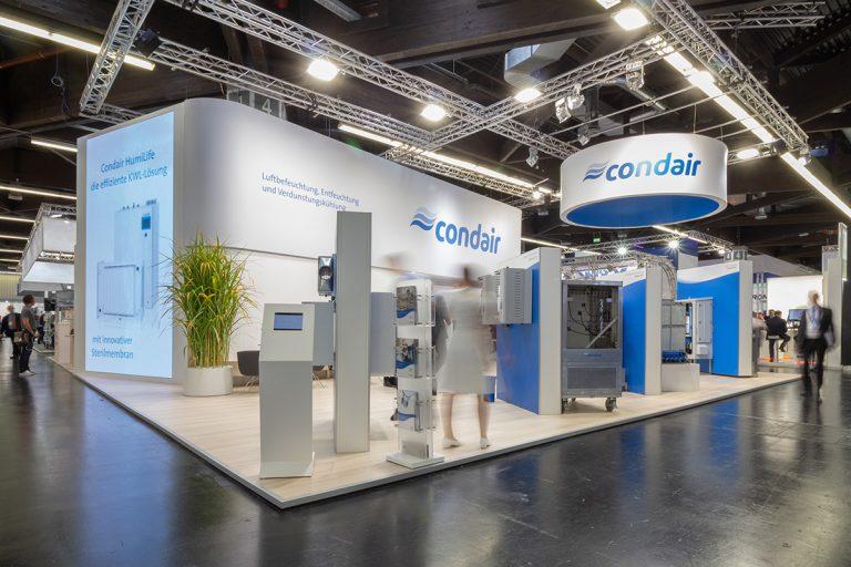 Messestand für Condair GmbH